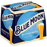 Blue Moon Belgian Pale Ale Beer 6 Pack 12 oz Bottles