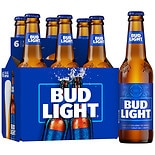 Budweiser Beer 6 Pack 12 oz Bottles 12 oz Bottles