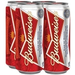 Budweiser Beer 16 oz Can