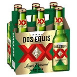 Dos Equis XX Beer 6 Pack 12 oz Bottles