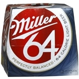 Miller 64 Light Beer 12 oz Bottles