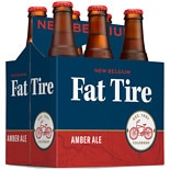 New Belgium Fat Tire Amber Ale 6 Pack 12 oz Bottles Fat Tire,12 oz Bottles