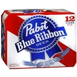 Pabst Blue Ribbon Beer 12 oz Cans