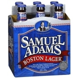 Samuel Adams Boston Lager 6 Pack 12 oz Bottles