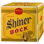 Shiner Bock Bock Beer 12 Pack 12 oz Bottles