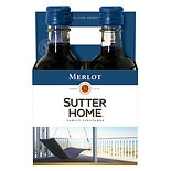 Sutter Home Merlot Wine 4 Pack 187 mL Bottles
