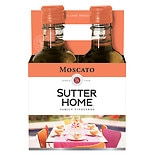 Sutter Home Moscato Wine 4 Pack 187 mL Bottles