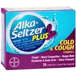 Alka-Seltzer Plus Cough & Cold Liquidgels