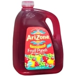 Arizona Fruit Punch Drink 128 oz Bottle Fruit Punch