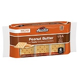 Austin Toasty Crackers with Peanut Butter 6 Pack Peanut Butter