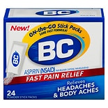 BC Aspirin Pain Reliever Fever Reducer Powders