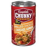 Campbell's Chunky Soup Grilled Chicken & Sausage Gumbo