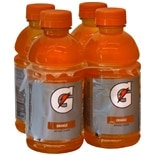 Gatorade Perform 02 Thirst Quencher Beverage 4 Pack 12 oz Bottles Orange