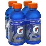 Gatorade G Series Thirst Quencher Beverage 4 Pack 12 oz Bottles Berry