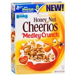 General Mills Honey Nut Cheerios Whole Grain Cereal Medley Crunch