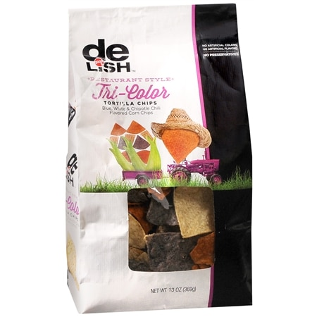 Good & Delish Tortilla Chips Tri-Color
