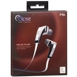 IHIP Eclipse Solar Flare Audio Earphones White