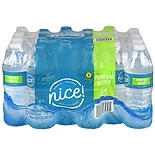 Nice! Purified Water 24 Pack 16.9 oz Bottles