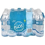 Nice! Spring Water 24 Pack 16.9 oz Bottles