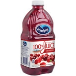 Ocean Spray 100% Juice 60 oz Bottle Cranberry