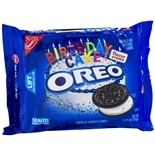 Oreo Sandwich Cookies Birthday Cake