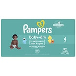 Pampers Baby Dry Diaper Super Pack 4