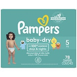 Pampers Baby Dry Diaper Super Pack 5