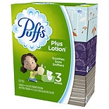 Puffs Facial Tissue Plus Lotion 8.4 inch x 8.2 inch