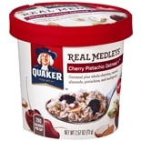 Quaker Real Medleys Oatmeal Cherry Pistachio