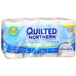 Quilted Northern Ultra Soft & Strong Unscented Bathroom Tissue 16 Rolls