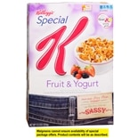 Special K Cereal Fruit & Yogurt