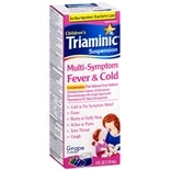 Triaminic Children's Multi-Symptom Fever & Cold Liquid Grape