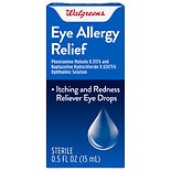 Walgreens Allergy Relief Eye Drops
