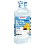Walgreens Pediatric Dye Free Oral Electrolyte, Fruit Fruit