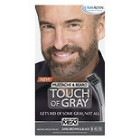 Just For Men Touch of Gray Mustache & Beard Hair Treatment Dark Brown & Black B-45/55 Color