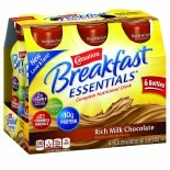 Carnation Breakfast Essentials Complete Nutritional Drink, Bottles Rich Milk Chocolate