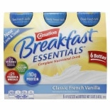 Carnation Breakfast Essentials Complete Nutritional Drink, Bottles French Vanilla