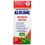 Alocane Maximum Strength Emergency Room Burn Gel