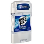 Speed Stick by Mennen Gear Gel Deodorant Fresh Force
