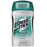 Speed Stick by Mennen Deodorant Regular,Regular
