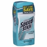 Speed Stick by Mennen Deodorant Twin Pack Regular