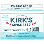 Kirk's Original Coco Castile Bar Soap Fragrance Free