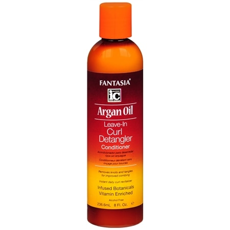 Fantasia Argan Oil Leave-In Curl Detangler Conditioner