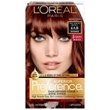 L'Oreal Paris Preference Fade-Defying Color + Shine System 6AB Chic Auburn Brown