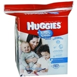 Huggies Simply Clean Wipes Fresh