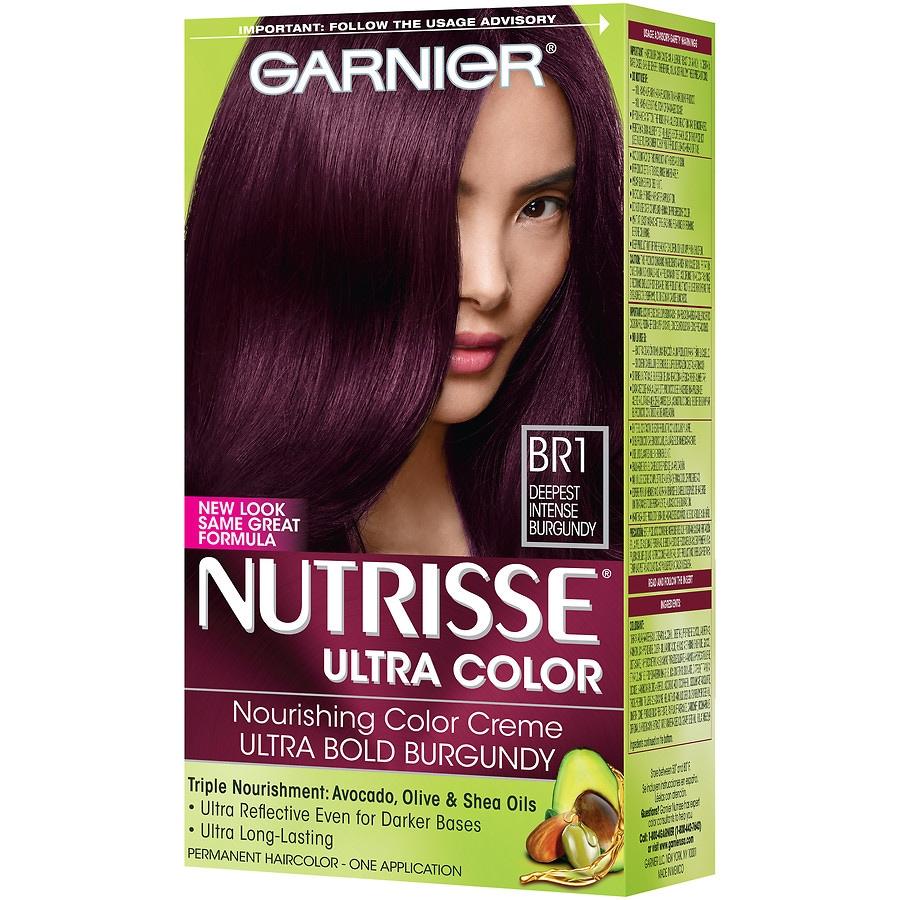 Burgundy Hair Color In Garnier