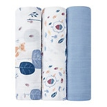 Aden + Anais Organic Swaddler 3 Pack Into the Woods