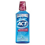 ACT Braces Care Anticavity Fluoride Mouthwash with Xylitol Clean Mint