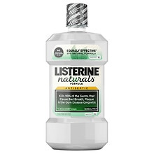 Listerine Naturals Herbal Mint Antiseptic Mouthwash Herbal Mint