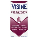 For Contacts, Lubricating & Rewetting Drops